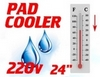 Pad Cooler Field Retrofit for Circular Padder